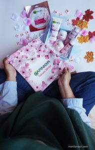 review garnier sakura white